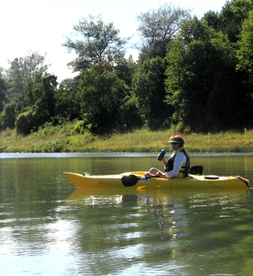 Heather Wallace on the Saugeen