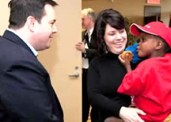 Minister Kenney welcomes Haitian adoptees